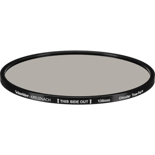 Schneider 138mm Circular True-Polarizing Water White Glass Filter