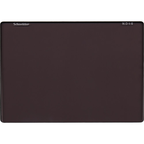 "Schneider Neutral Density (ND) 0.6 Filter (4 x 5.65"")"