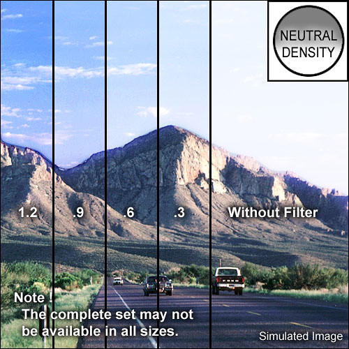 """Schneider 4x5.65"""" Graduated Neutral Density 0.6 Water-White Glass Filter"""