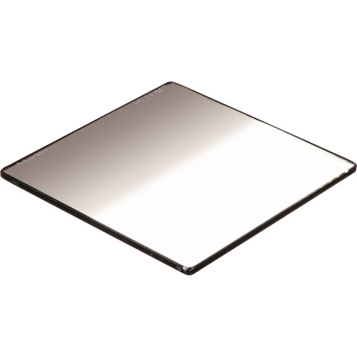 """Schneider 4x4"""" Graduated Neutral Density 0.9 Water-White Glass Filter"""