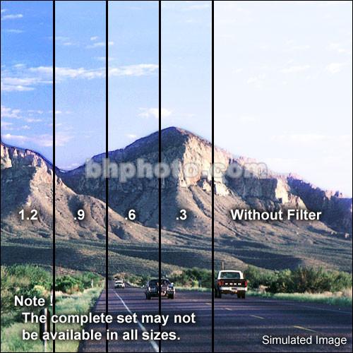 """Schneider 5.65x5.65""""  Graduated Neutral Density 0.9 Water-White Glass Filter"""