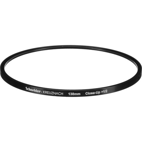 Schneider 138mm Water White +1/2 Full Field  Diopter Lens (Close-up Filter)