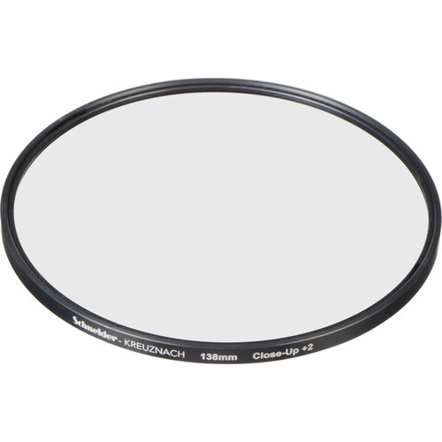 Schneider 138mm Water White +2 Full Field  Diopter Lens (Close-up Filter)