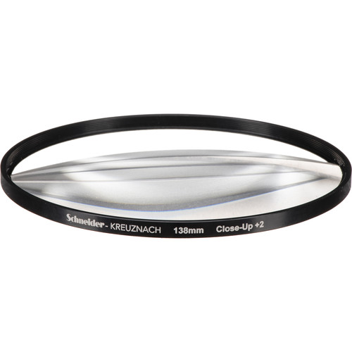 Schneider 138mm Water White +2 Split-Field  Diopter Lens (Close-up Filter)