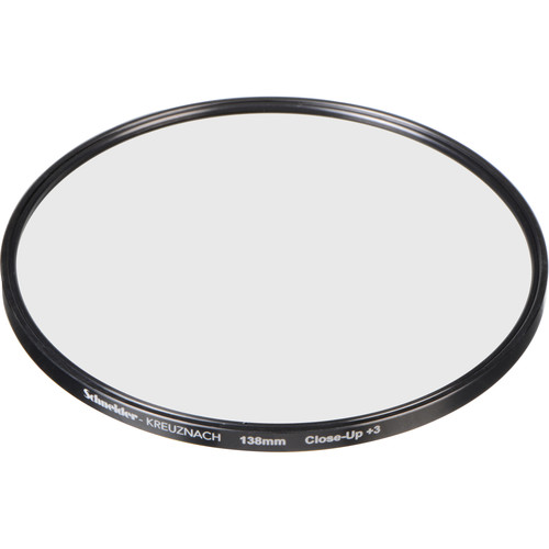 Schneider 138mm Water White +3 Full Field  Diopter Lens (Close-up Filter)