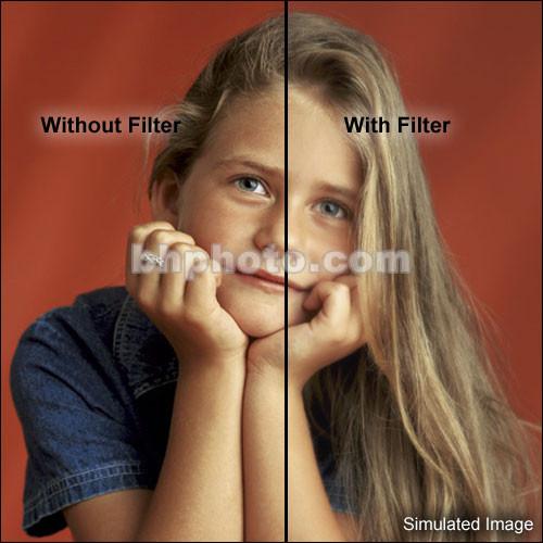 """Schneider 3x3"""" White Frost Water 1/2 White Glass Filter"""