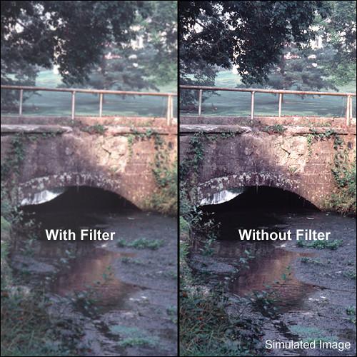 """Schneider 4x4"""" White Frost Water 1/2 White Glass Filter"""