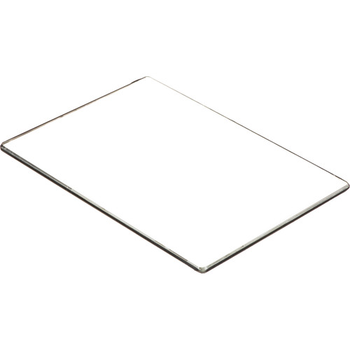 "Schneider 4x5.65"" Low Contrast 2000 1/4  Water White Glass Filter"