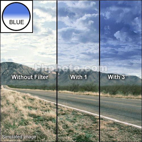 "Schneider 4x4""  Graduated Storm Blue 3 Water White Glass Filter"