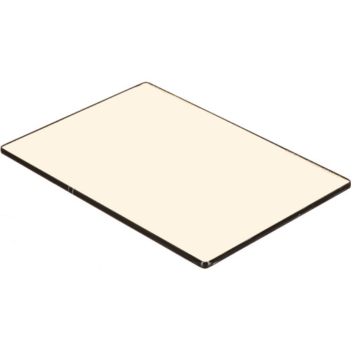 "Schneider 4x5.65""  Solid Color Antique Suede 2 Water White Glass Filter"