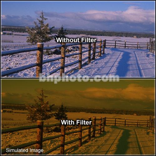 """Schneider 4x5.65""""  Graduated Tobacco 3 Water White Glass Filter"""