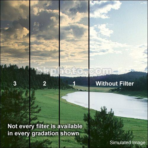 """Schneider 5.65x5.65""""  Graduated Tobacco 3 Water White Glass Filter"""