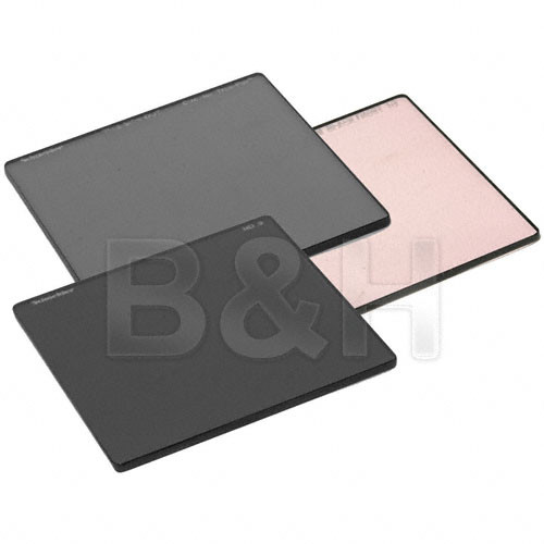 """Schneider 4x4"""" Filter Kit (Consists of Neutral Density (ND) .9, Black Frost 1/2 and Circular Tru-Polarizing Filters)"""
