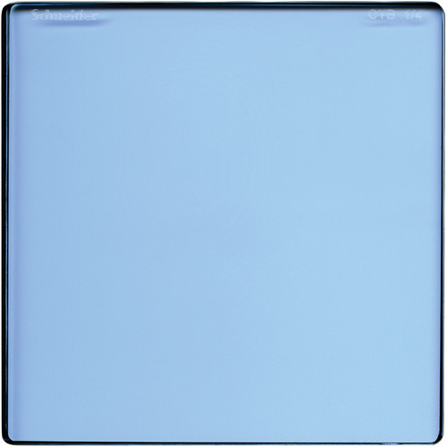 "Schneider 4 x 4"" Color Temperature Blue 1/4 Filter"