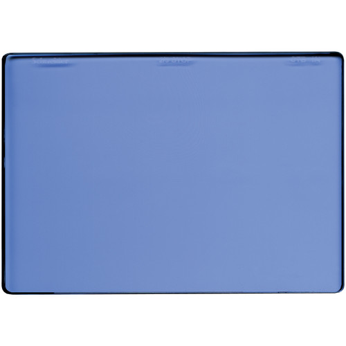 "Schneider 4 x 5.65"" Color Temperature Blue 1/4 Filter"