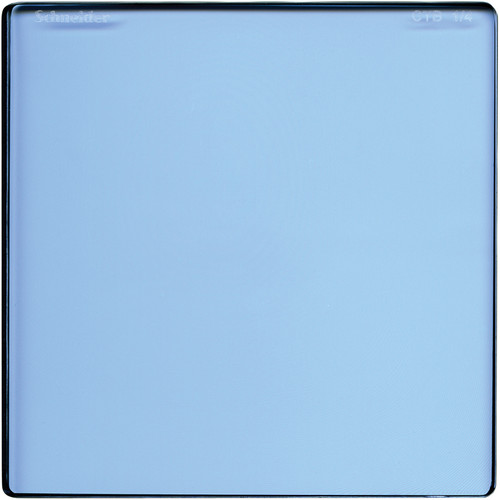 "Schneider 5 x 5"" Color Temperature Blue 1/4 Filter"
