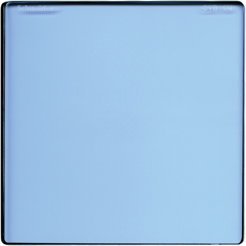 "Schneider 6.6 x 6.6"" Color Temperature Blue 1/4 Filter"