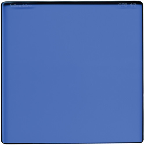 "Schneider 4 x 4"" Color Temperature Blue 1/2 Filter"