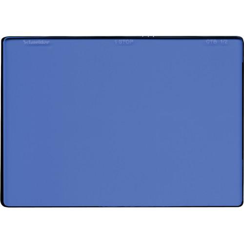"Schneider 4 x 5.65"" Color Temperature Blue 1/2 Filter"