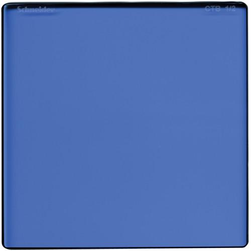 "Schneider 5 x 6.5"" Color Temperature Blue 1/2 Filter"