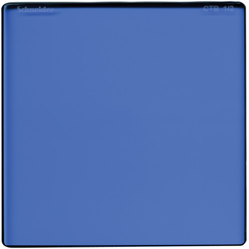 "Schneider 5 x 5"" Color Temperature Blue 1/2 Filter"
