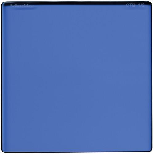 "Schneider 6.6 x 6.6"" Color Temperature Blue 1/2 Filter"