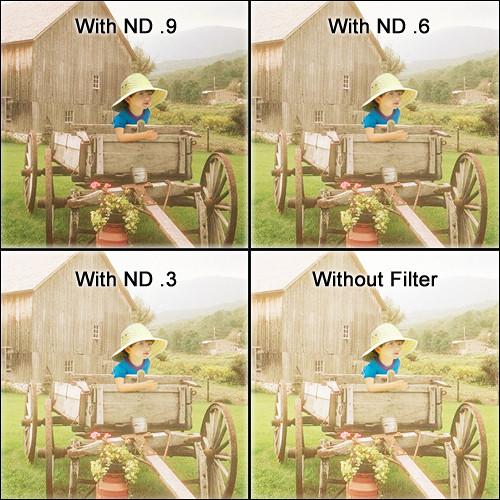 """Schneider 4 x 5.65"""" Neutral Density Attenuator 0.9 Filter"""