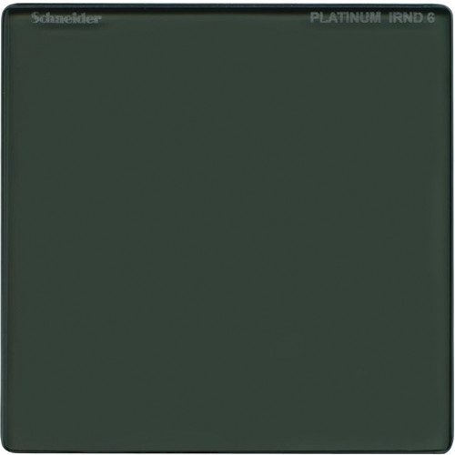 """Schneider 6.6 x 6.6"""" MPTV Platinum IRND 0.6 Filter"""