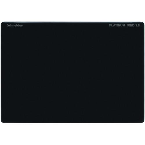 """Schneider 4 x 5.65"""" Platinum IRND 1.8 Filter (6-Stop)"""