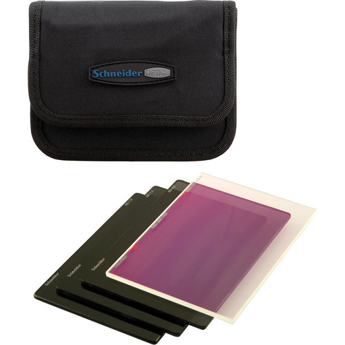 "Schneider 4 x 5.65"" Essential Filter Kit for RED"