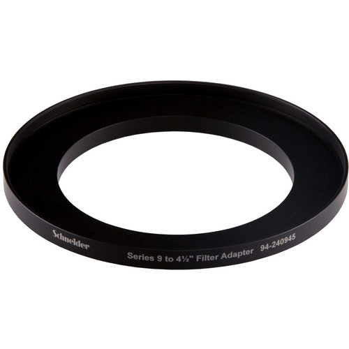 """Schneider Series 9-4.5"""" Step-up Ring (Lens to Filter)"""