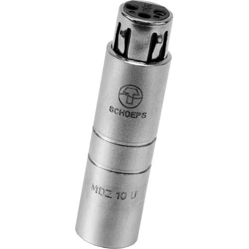 Schoeps MDZ10U -10dB Pad for Condenser Microphones