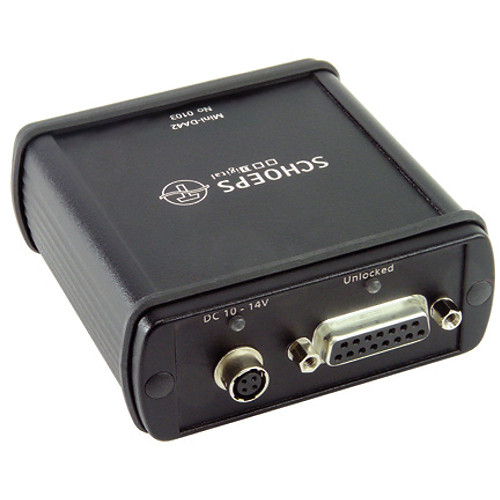 Schoeps Mini-DA42 Digital Microphone Powering Box and D/A Converter