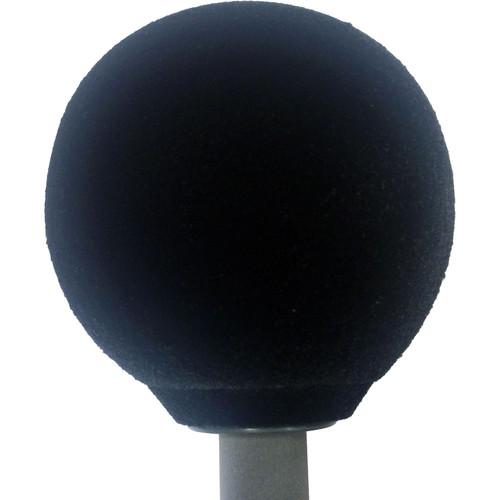 """Schoeps W5D 3.5"""" Hollow Foam Ball Windscreen (Black)"""