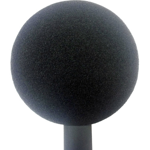 "Schoeps W5 3.5"" Solid Foam Ball Windscreen (Gray)"