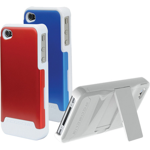 Scosche switchBACK g4 - Polycarbonate Case with Interchangeable Backs for iPhone 4S & 4 (Verizon, Sprint, AT&T)