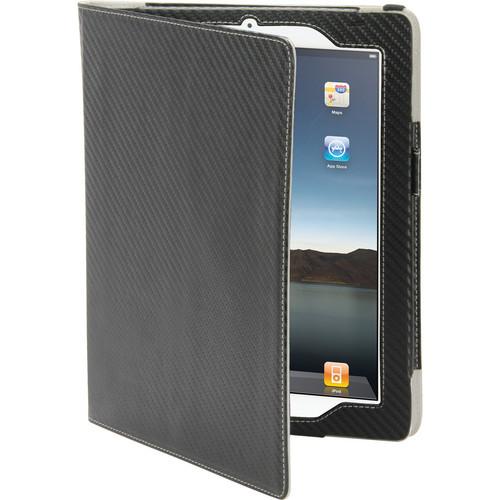 Scosche foliO grip p2- Folio Case with Hand Strap for new iPad and iPad 2 (Carbon Fiber)