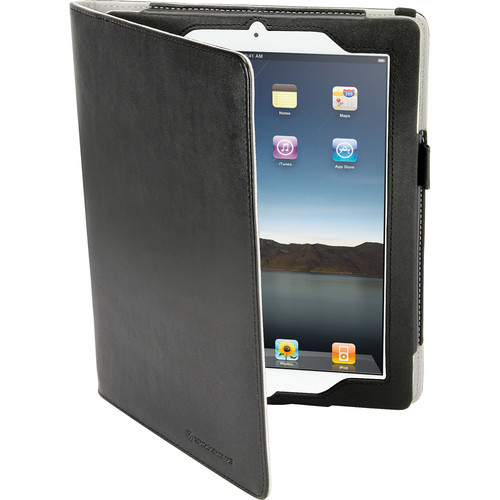 Scosche foliO grip p2- Folio Case with Hand Strap for new iPad and iPad 2 (Leather)