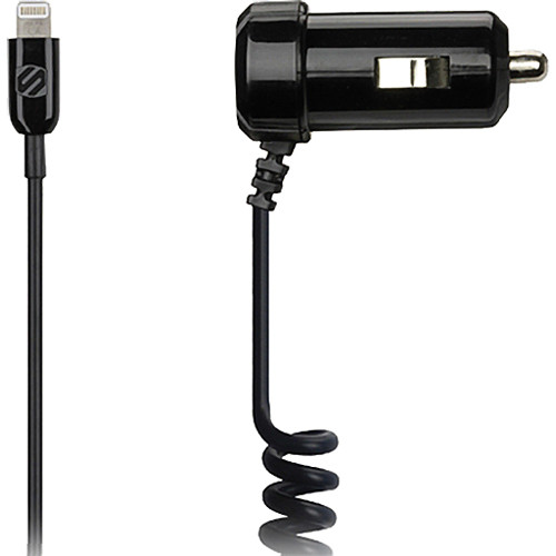 Scosche strikeDRIVE 12W- Car Charger for Lightning Devices