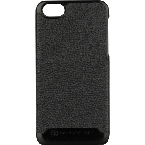 Scosche rawHIDE - Polycarbonate Case with Genuine Leather Exterior for iPhone 5 (Black)