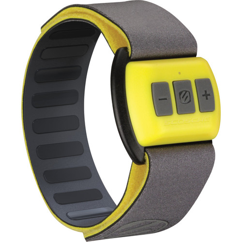 Scosche RHYTHM - Bluetooth Armband Pulse Monitor (Gray with Yellow)