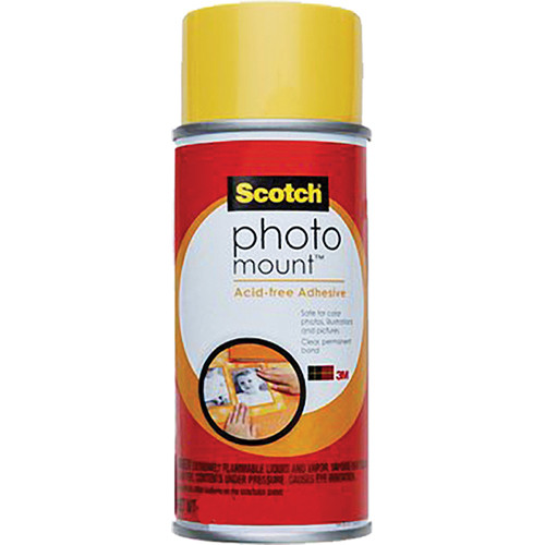 Scotch Photo Mount Acid-free Adhesive (10 oz)