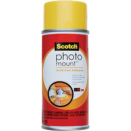 Scotch Photo Mount Acid-free Adhesive (10 oz)