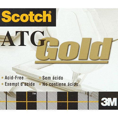 "Scotch S9081236 Acid Free Bulk Adhesive Transfer Glue for the ATG-100 Gun (1/2""x 36yds)"