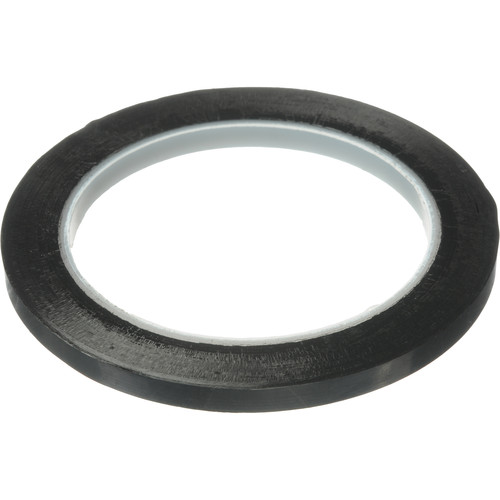 """Scotch Polyester Tape - Black - 1/4"""" x 72yds"""