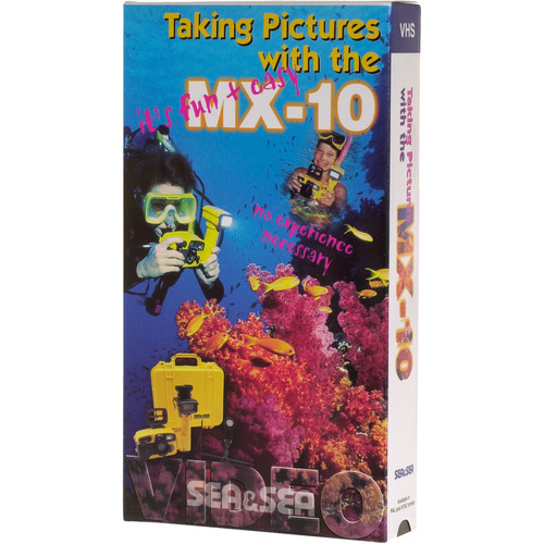 Sea & Sea Book & Video Tape: Taking Pictures with the MX-10