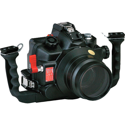 Sea & Sea DX-400D Underwater Housing w/connector for TTL Converter