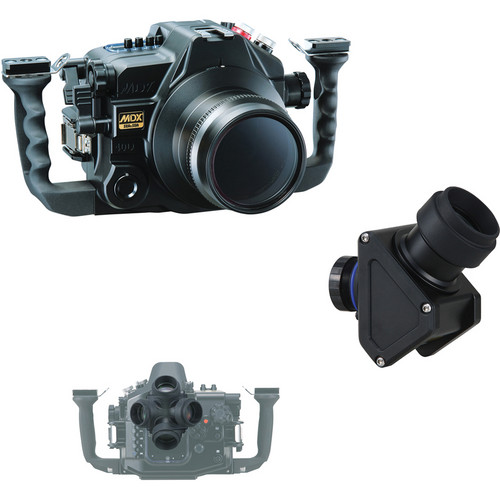 Sea & Sea MDX-40D/VF45 Viewfinder Package for Canon EOS 40D DSLR