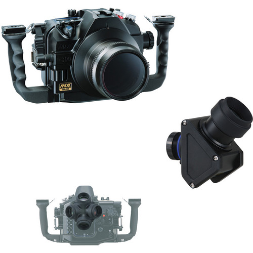 Sea & Sea MDX-D300/VF45 Viewfinder Package for Nikon D300 DSLR