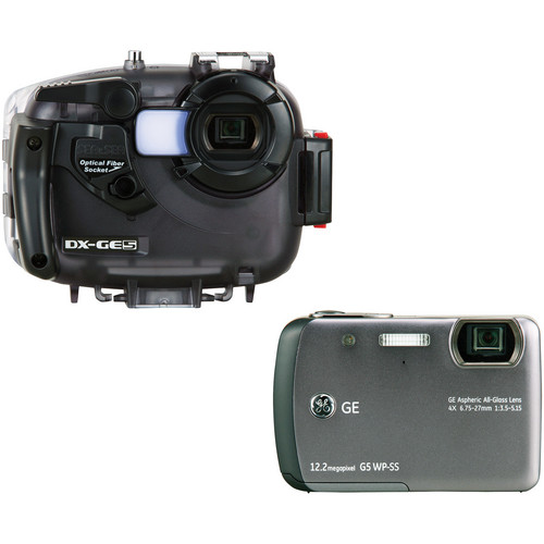 Sea & Sea DX-GE5 Underwater Digital Camera & Housing